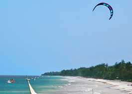 Wind Surfing and Kite surfing activities Tanzania