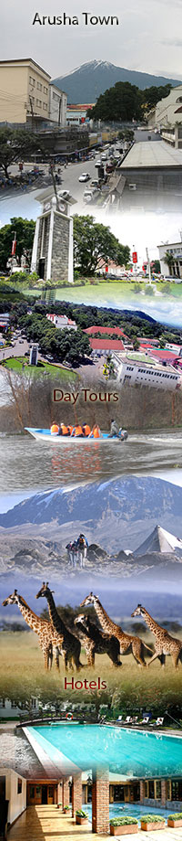 Arusha tour, attractions and hotels