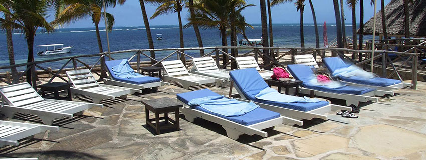 Luxury beach hotels in Malindi town