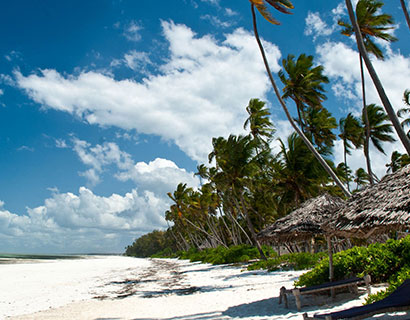 All inclusive beach holidays in Zanzibar