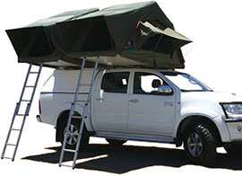 Camping holiday cars for hire in Kenya, Tanzania and Uganda