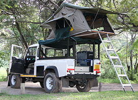 safari camping cars for hire in Kenya, Tanzania and Uganda