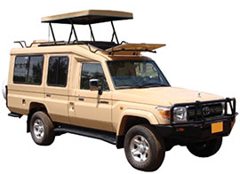 safari cars for hire in Kenya, Tanzania and Uganda