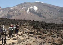 Mountain Climbing trips in Tanzania