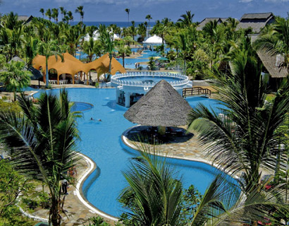 luxury beach accommodation, Southern Palm Resort