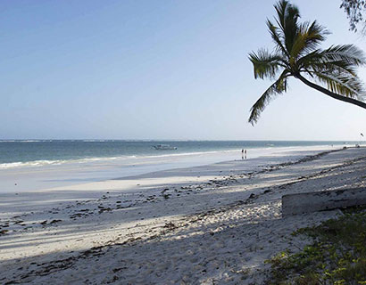 beach activities at Diani House