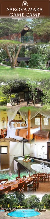 Safari Hotels in Masai Mara,Mara Sarova camp