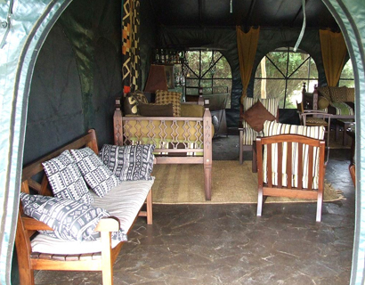 Mara Camp, Ilkeliani lounge area