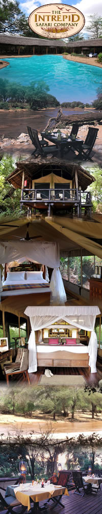 Samburu national park, Three Days safari holiday