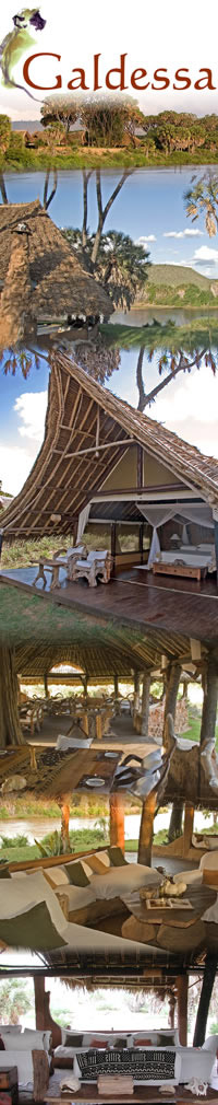 Hotels in Tsavo East, Galdessa Camp
