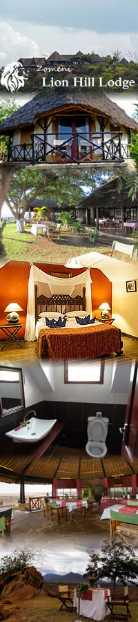 Hotels in Tsavo East, Lion Hill Lodge
