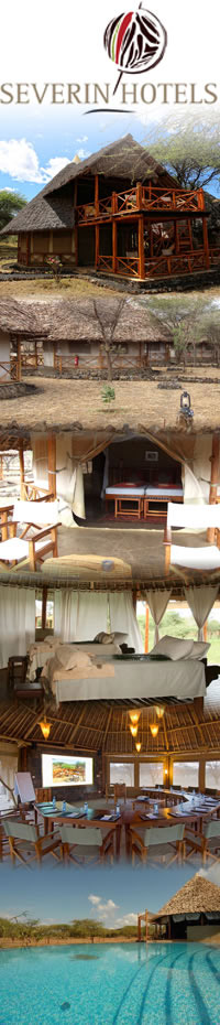 safari camps and lodges in Tsavo,Severin Safari Camp