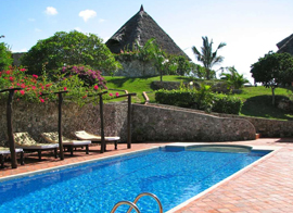 private beach honeymoon accommodation