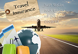 Single trip travel insurance cover