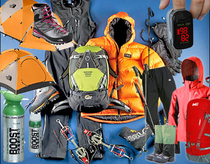 mount kilimanjaro climbing equipments