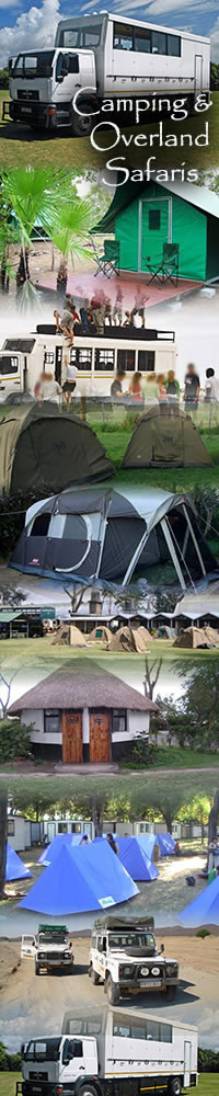 Camping and Overland safari in Africa
