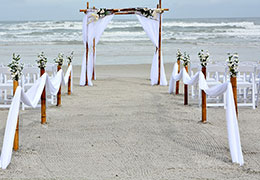 Beach Wedding and Safari Honeymoon