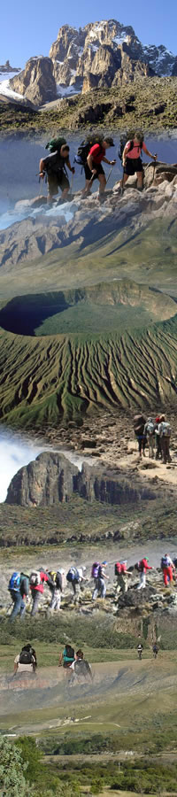 Hiking Mount Kilimanjaro via Marangu route packages