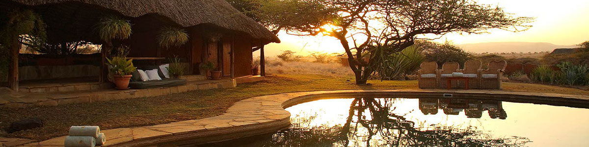 Luxury safari holiday accommodation in Africa